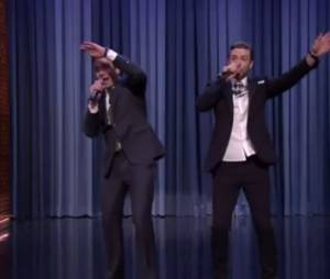 Justin Timberlake et Jimmy Fallon revisitent le rap américain – en vidéo
