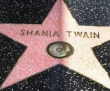 Shania Twain sur le « Walk of Fame » d'Hollywood