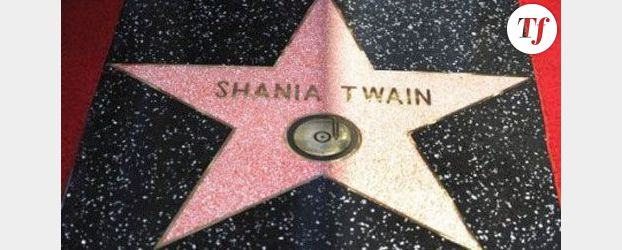Shania Twain sur le « Walk of Fame » d'Hollywood