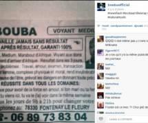 """Booba se paie la tête de """"Mr. Bouba"""", marabout, sur Instagram"""