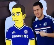 Les Simpson : Eden Hazard dans un épisode