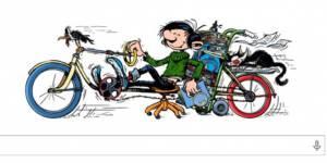Doodle : Google fête avec humour les 57 ans de Gaston Lagaffe