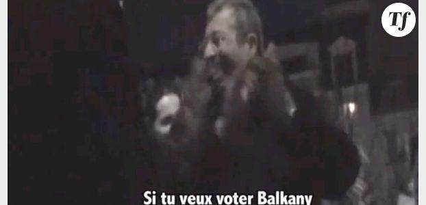Patrick Balkany piégé par des rappeurs de Levallois - en vidéo