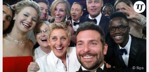 Le selfie d'Ellen DeGeneres aux Oscars pour les nuls