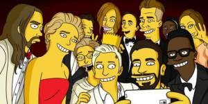 Oscars 2014 : les Simpson proposent leur selfie délirant