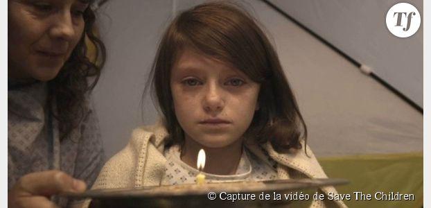 1 seconde par jour dans la vie d'une fillette pendant la guerre - vidéo