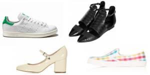 Tendances printemps-été 2014 : 10 chaussures pour assurer à la mi-saison