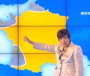 Roselyne Bachelot présente (non sans mal) la météo sur D8 (vidéo)