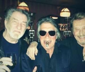 Johnny Hallyday bientôt en concert avec Dutronc et Eddy Mitchell ?