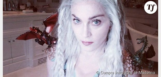 Game of Thrones : Madonna en mode Daenerys (photo)