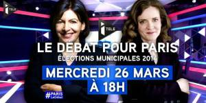Municipales 2014 : débat Anne Hidalgo vs NKM en direct streaming / replay