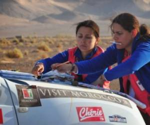 Rallye Aïcha des Gazelles 2014 : l'étape 4 marathon, point d'orgue de la compétition (1/2)