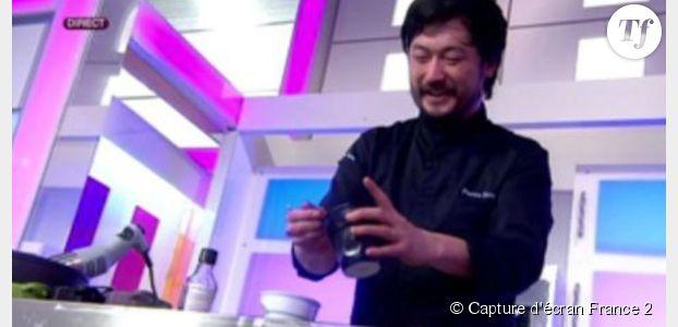 Jean Reno fait le buzz en parlant japonais avec Pierre Sang (Top Chef) qui n'y comprend rien