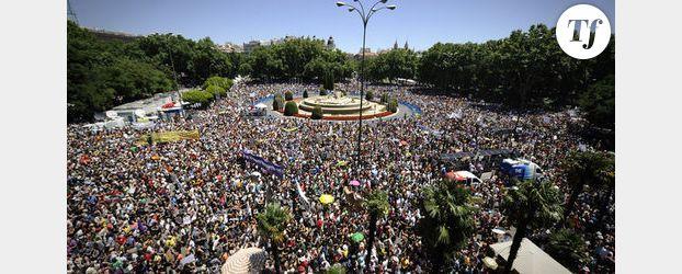 Espagne : les « indignés » dans la rue contre la crise et le chômage