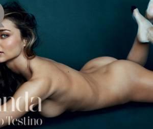 """Miranda Kerr nue dans GQ : """"J'apprécie autant les hommes que les femmes"""""""