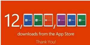 Microsoft Office : énorme carton sur iPad