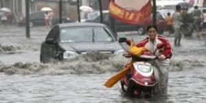 Chine : neuf millions de personnes menacées par les inondations