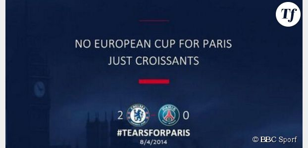 Chelsea vs PSG : les meilleures vannes sur Twitter