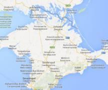 Quand Google Maps rattache la Crimée à la Russie