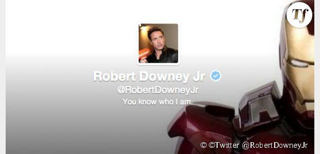Robert Downey JR est le roi de Twitter