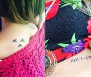 Tal présente ses tatouages sur Instagram