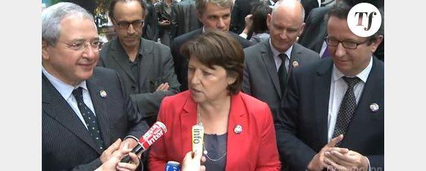 Martine Aubry, candidate à l'élection présidentielle