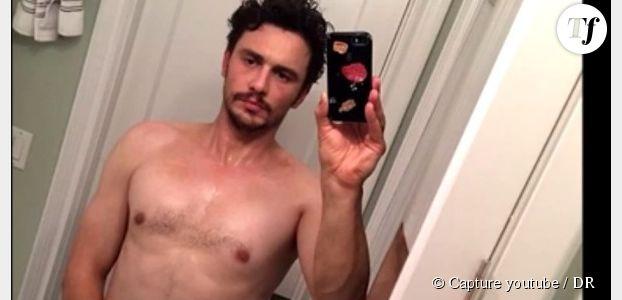 """James Franco s'explique sur son """"selfie"""" torse nu, main dans le slip"""