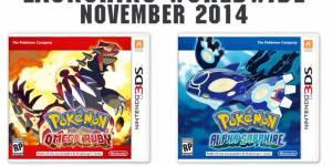 Pokemon Rubis & Saphir : un remake pour 2014, la date de sortie annoncée par Nintendo