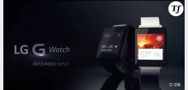 LG Watch : présentation vidéo du concurrent de l'iWatch