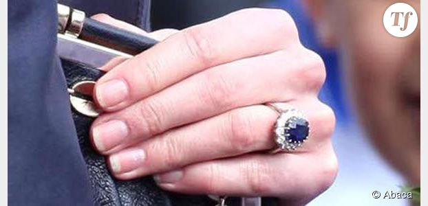 La bague de fiancaille de kate middleton