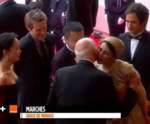 Cannes 2014 : Leila Hatami s'attire les foudres de l'Iran pour une bise à Gilles Jacob
