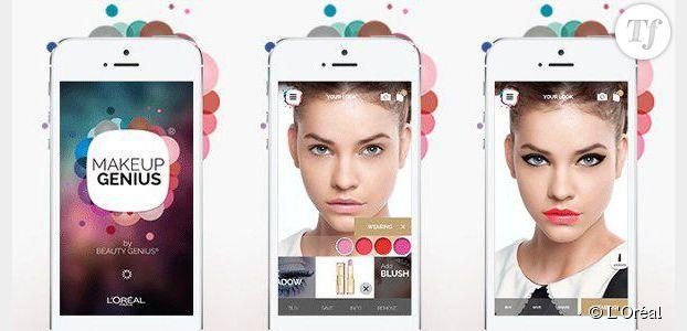 L'Oréal lance une nouvelle appli pour tester son make-up avant d'acheter