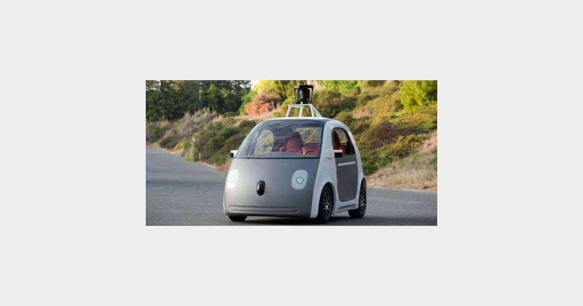 google car la nouvelle voiture sans volant et sans pilote se d voile. Black Bedroom Furniture Sets. Home Design Ideas