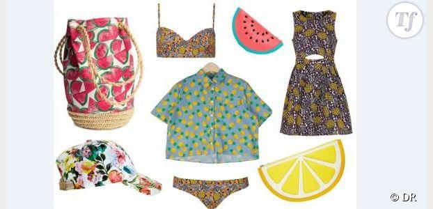 Ananas et pastèques : la tendance des imprimés fruits pour l'été