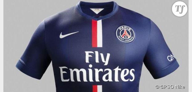 PSG : le maillot des parisiens pour la saison 2014 / 2015 de football (photo)