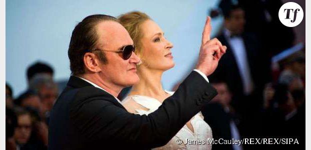 Quentin Tarantino en couple avec Uma Thurman : la photo du bisou