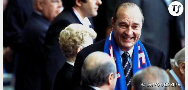Coupe du monde Brésil : Jacques Chirac et Bernadette poussent des cris devant les matches