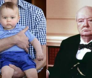 Harry trouve que le prince George ressemble à Churchill