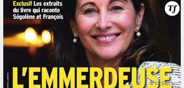 """Ségolène Royal : """"L'Emmerdeuse"""" s'affiche en une de L'Express"""