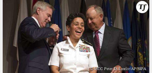 Michelle Howard, la première femme amiral aux États-Unis
