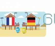 France vs Allemagne : Google fête le Mondial avec un Doodle