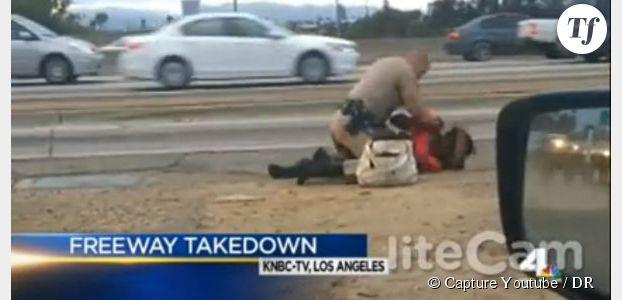 Etats-Unis: la vidéo d'un policier passant une femme noire à tabac émeut le pays