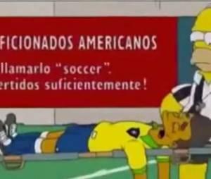 Neymar : sa blessure prédite...par les Simpson