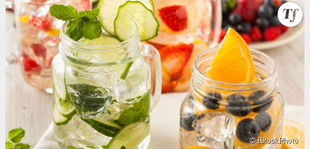 Mason Jar : où acheter des bocaux pour les eaux fruitées (Detox Water) ?