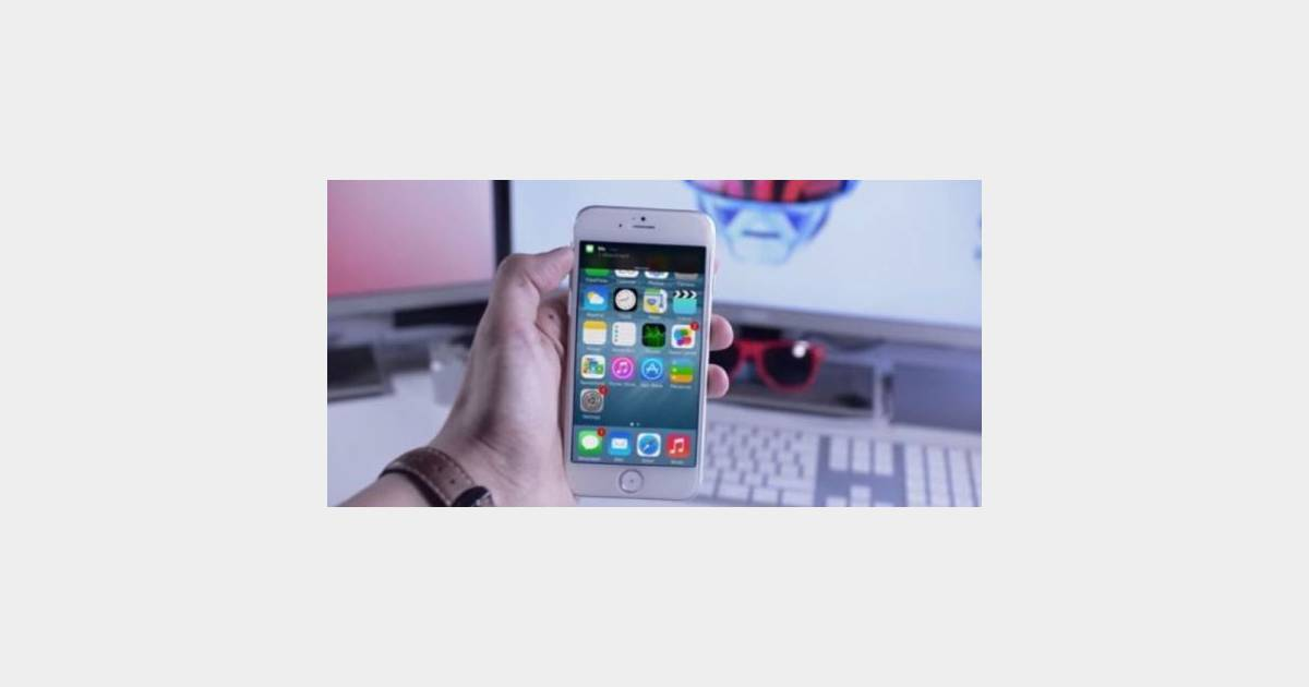 iphone 6 un cran inrayable et une batterie l g rement plus puissante que le 5s terrafemina. Black Bedroom Furniture Sets. Home Design Ideas