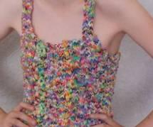 Rainbow Loom : une robe qui vaut de l'or en vente sur Ebay
