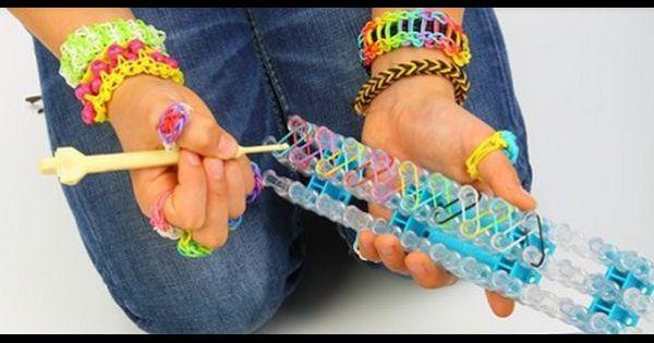 Rainbow loom comment faire des animaux en lastiques - Comment faire des bracelets en elastique ...