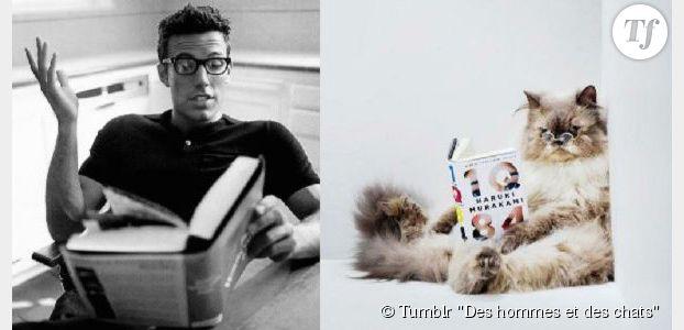 Des hommes et des chatons : le tumblr aussi sexy que mignon