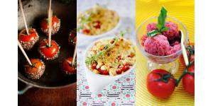 Tomates : trois recettes qui changent pour l'été