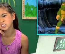 Comment réagissent les enfants d'aujourd'hui aux Tortues Ninjas des années 1990 ? - vidéo